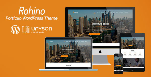 Rohino Preview Wordpress Theme - Rating, Reviews, Preview, Demo & Download