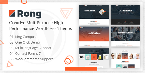 Rong Preview Wordpress Theme - Rating, Reviews, Preview, Demo & Download