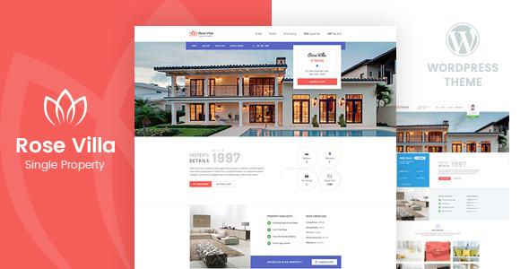 Rose Villa Preview Wordpress Theme - Rating, Reviews, Preview, Demo & Download
