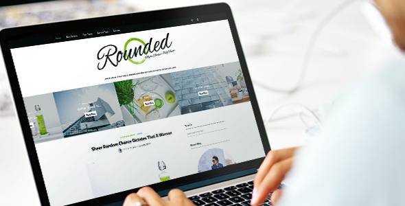 Rounded Preview Wordpress Theme - Rating, Reviews, Preview, Demo & Download