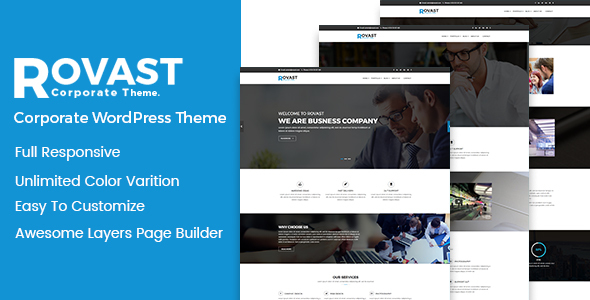 Rovast Preview Wordpress Theme - Rating, Reviews, Preview, Demo & Download