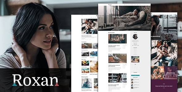 Roxan Preview Wordpress Theme - Rating, Reviews, Preview, Demo & Download