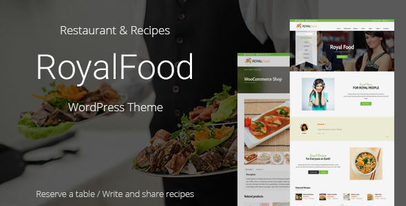 Royal Food Preview Wordpress Theme - Rating, Reviews, Preview, Demo & Download