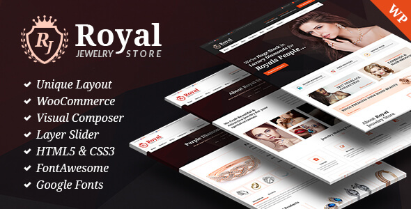 Royal Jewelry Preview Wordpress Theme - Rating, Reviews, Preview, Demo & Download