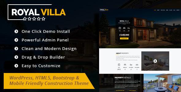 RoyalVilla Preview Wordpress Theme - Rating, Reviews, Preview, Demo & Download