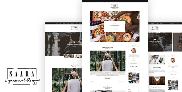 Saara Preview Wordpress Theme - Rating, Reviews, Preview, Demo & Download