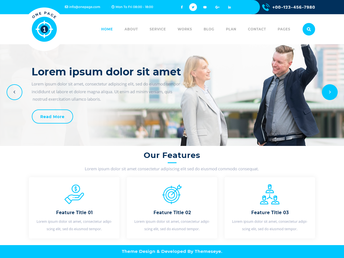 Safha One Preview Wordpress Theme - Rating, Reviews, Preview, Demo & Download