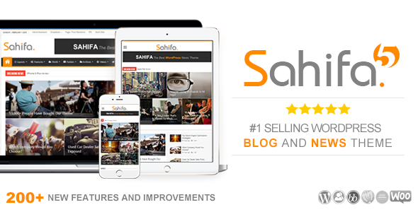 Sahifa Preview Wordpress Theme - Rating, Reviews, Preview, Demo & Download
