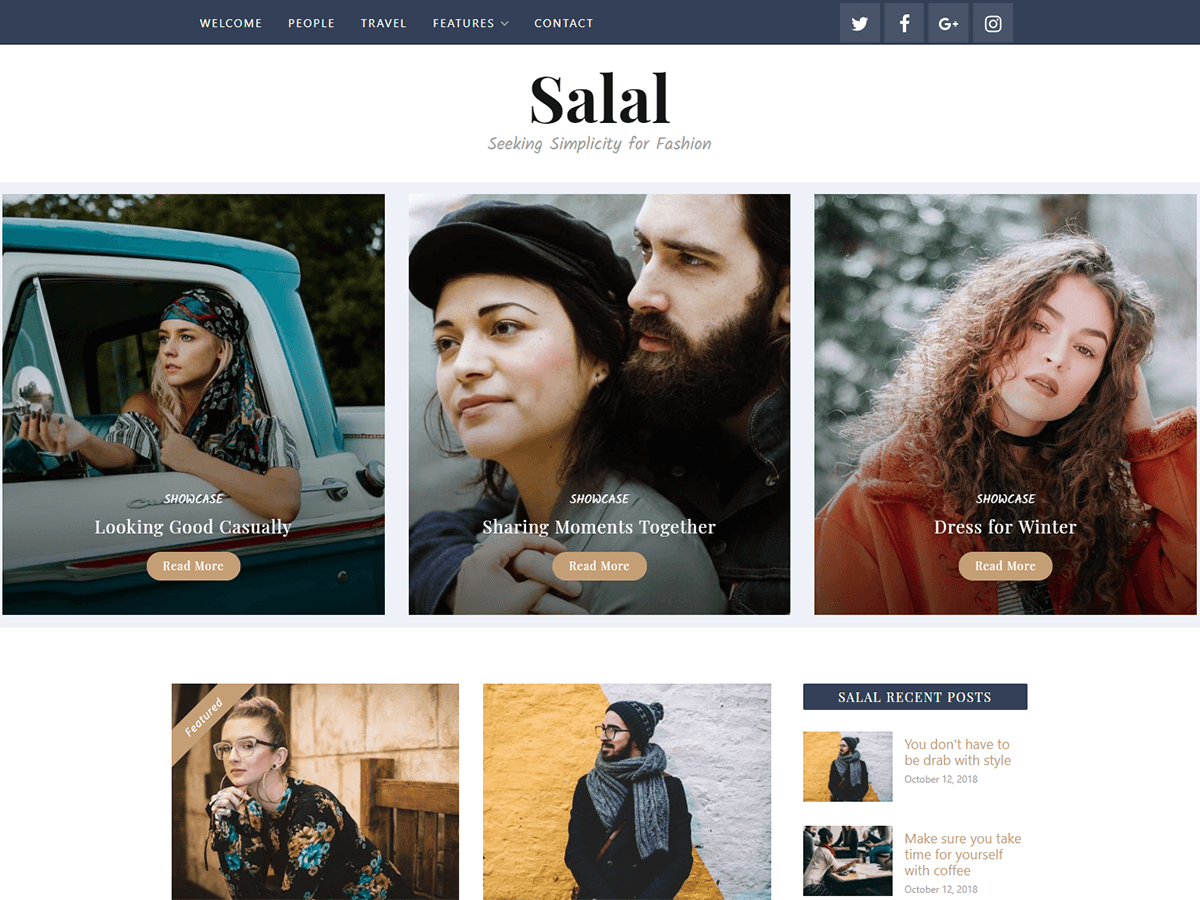 Salal Preview Wordpress Theme - Rating, Reviews, Preview, Demo & Download