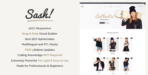 Sash Preview Wordpress Theme - Rating, Reviews, Preview, Demo & Download