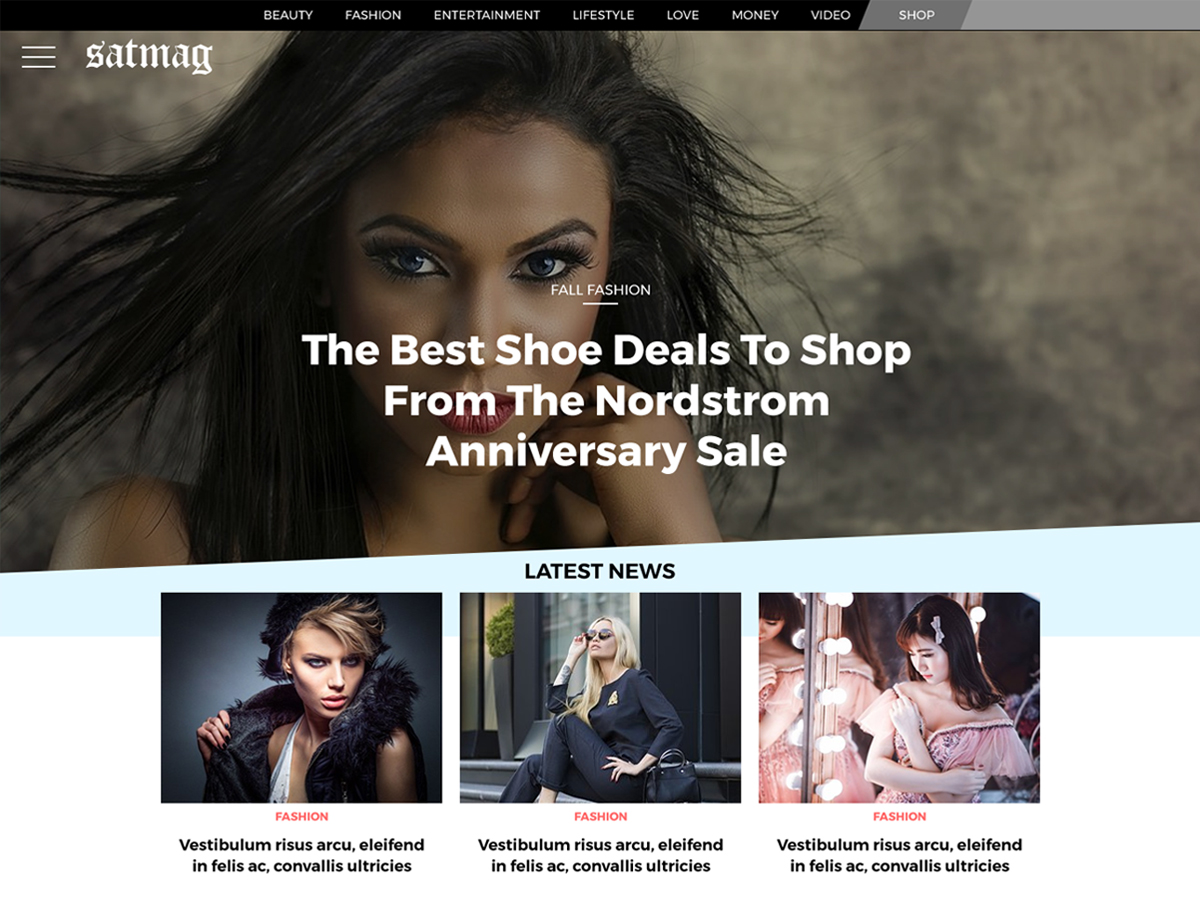 Satmag Preview Wordpress Theme - Rating, Reviews, Preview, Demo & Download