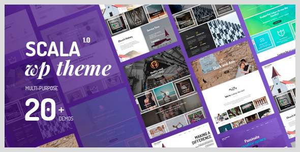 Scala Preview Wordpress Theme - Rating, Reviews, Preview, Demo & Download