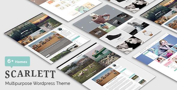 Scarlett Preview Wordpress Theme - Rating, Reviews, Preview, Demo & Download