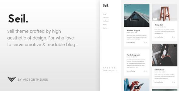 Seil Preview Wordpress Theme - Rating, Reviews, Preview, Demo & Download