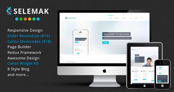 SeleMak Preview Wordpress Theme - Rating, Reviews, Preview, Demo & Download