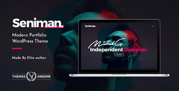 Seniman Preview Wordpress Theme - Rating, Reviews, Preview, Demo & Download