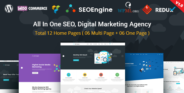 SEO Engine Preview Wordpress Theme - Rating, Reviews, Preview, Demo & Download