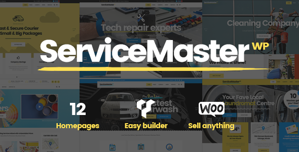 Service Master Preview Wordpress Theme - Rating, Reviews, Preview, Demo & Download