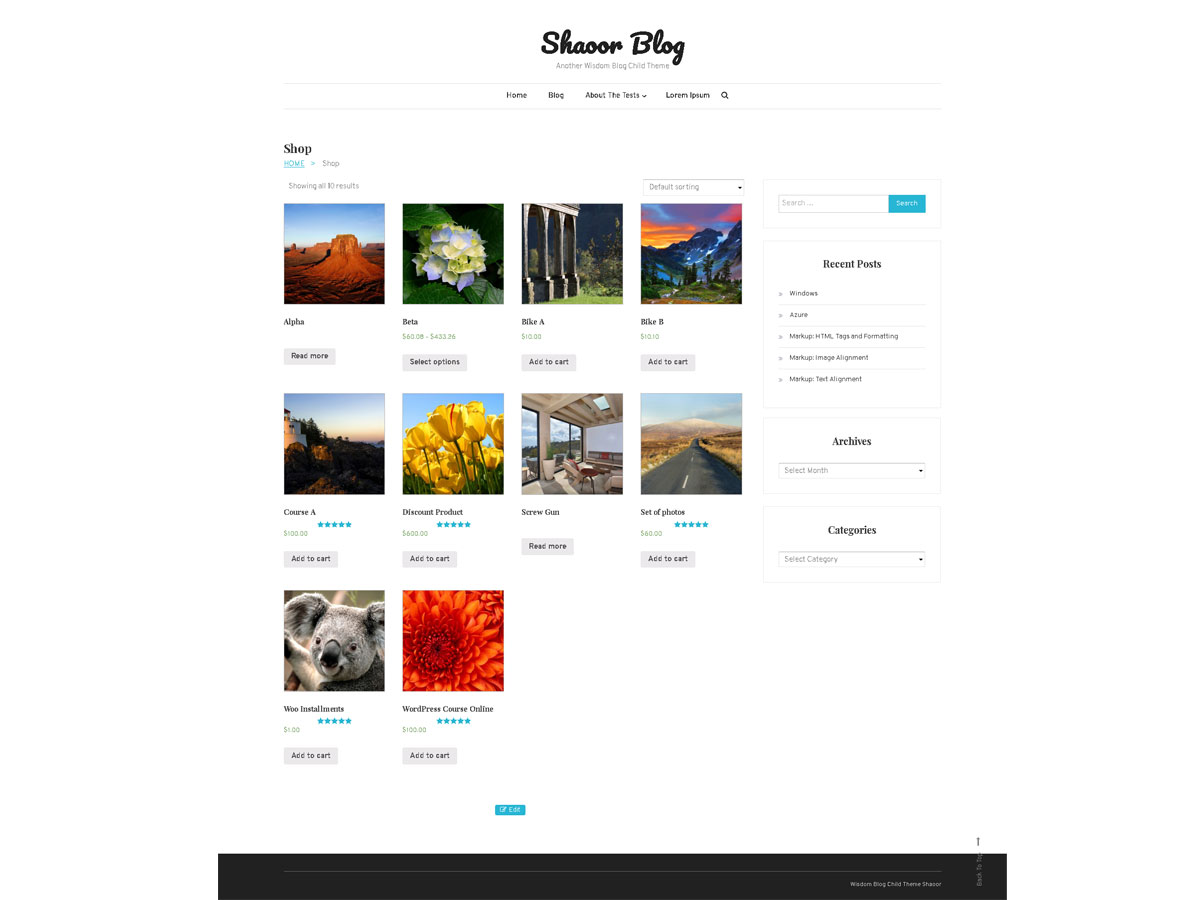 Shaoor Preview Wordpress Theme - Rating, Reviews, Preview, Demo & Download