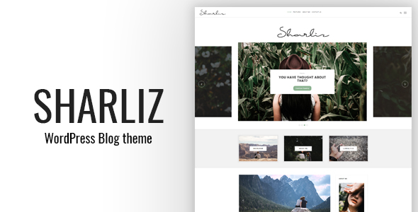 Sharliz Preview Wordpress Theme - Rating, Reviews, Preview, Demo & Download