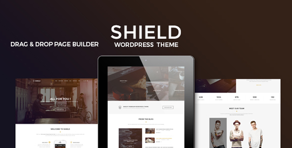 Shield Preview Wordpress Theme - Rating, Reviews, Preview, Demo & Download