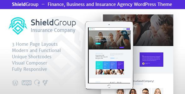 ShieldGroup Preview Wordpress Theme - Rating, Reviews, Preview, Demo & Download