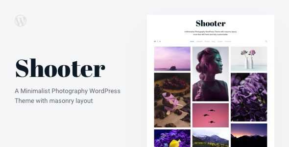 Shooter Preview Wordpress Theme - Rating, Reviews, Preview, Demo & Download