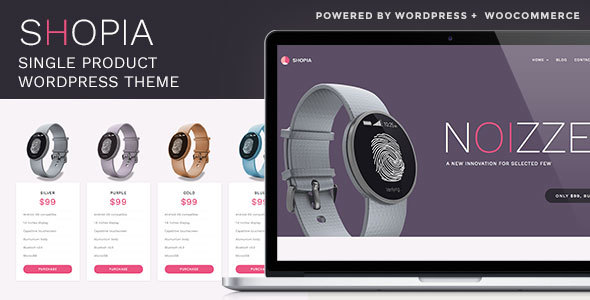 Shopia Preview Wordpress Theme - Rating, Reviews, Preview, Demo & Download
