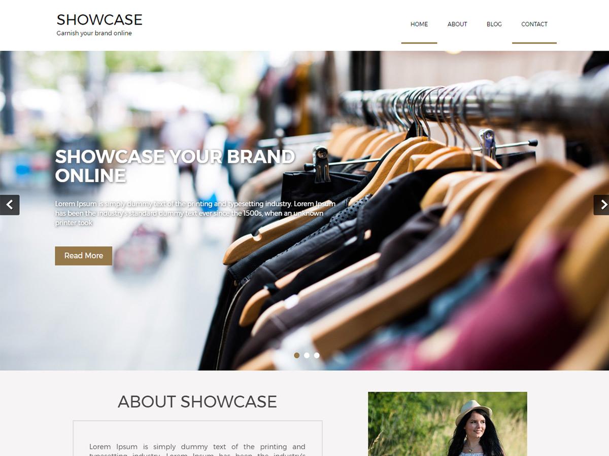 Showcase Lite Preview Wordpress Theme - Rating, Reviews, Preview, Demo & Download