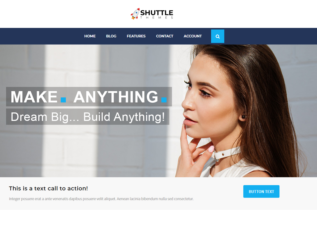 Shuttle AllBusiness Preview Wordpress Theme - Rating, Reviews, Preview, Demo & Download