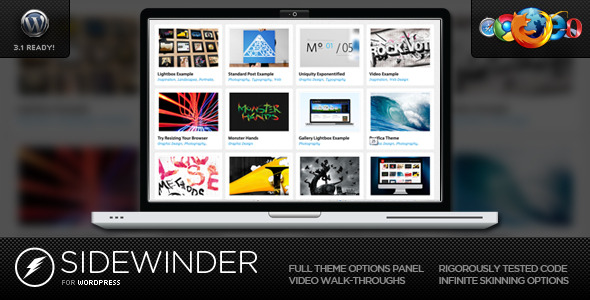 SideWinder For Preview Wordpress Theme - Rating, Reviews, Preview, Demo & Download