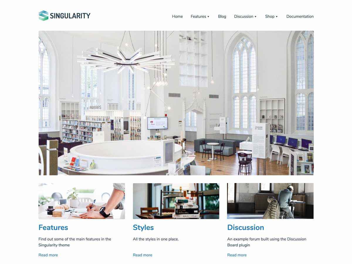 Singularity Preview Wordpress Theme - Rating, Reviews, Preview, Demo & Download
