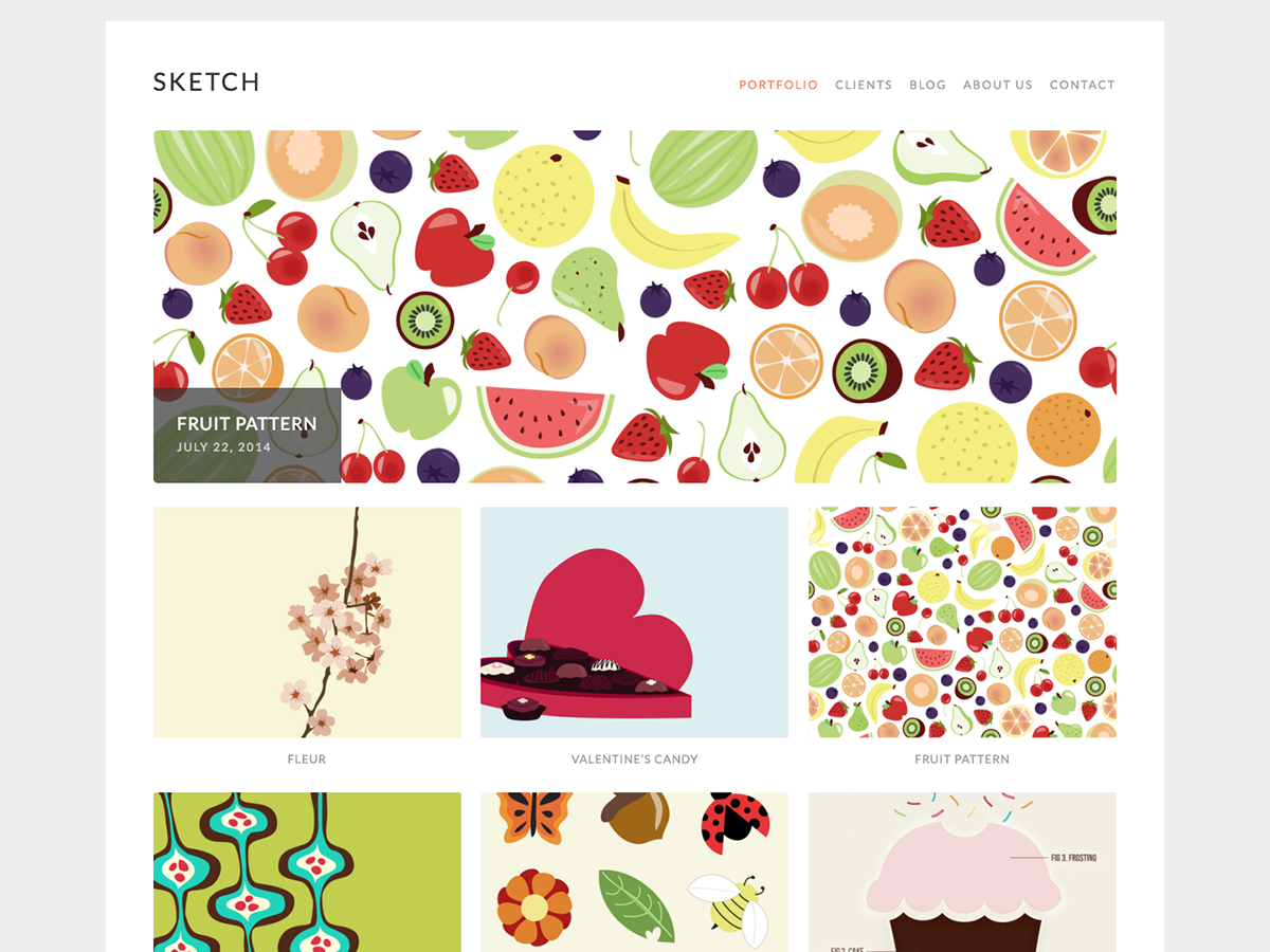 Sketch Preview Wordpress Theme - Rating, Reviews, Preview, Demo & Download