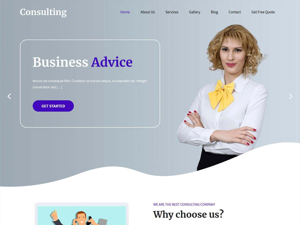 SKT Consulting Preview Wordpress Theme - Rating, Reviews, Preview, Demo & Download
