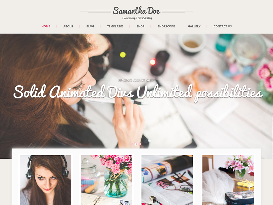 SKT Girlie Preview Wordpress Theme - Rating, Reviews, Preview, Demo & Download