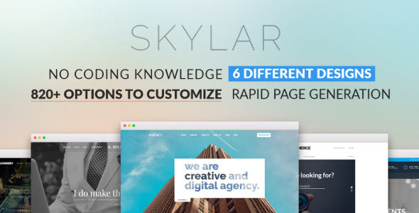 Skylar Preview Wordpress Theme - Rating, Reviews, Preview, Demo & Download