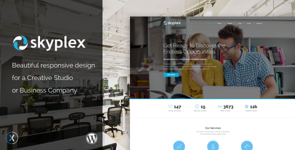 Skyplex WordPress Preview Wordpress Theme - Rating, Reviews, Preview, Demo & Download
