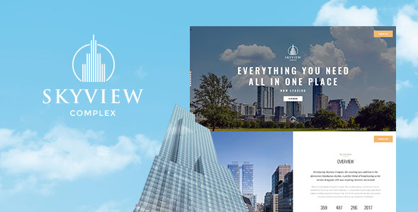 Skyview Complex Preview Wordpress Theme - Rating, Reviews, Preview, Demo & Download