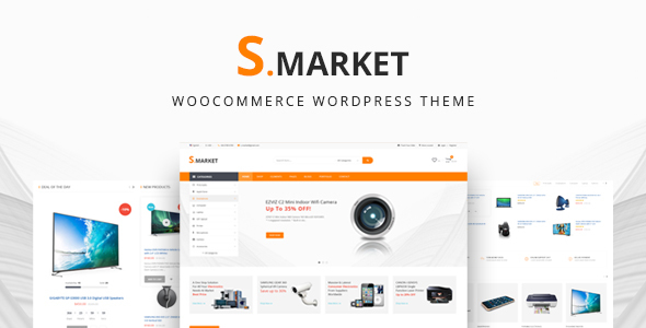 Smarket Preview Wordpress Theme - Rating, Reviews, Preview, Demo & Download