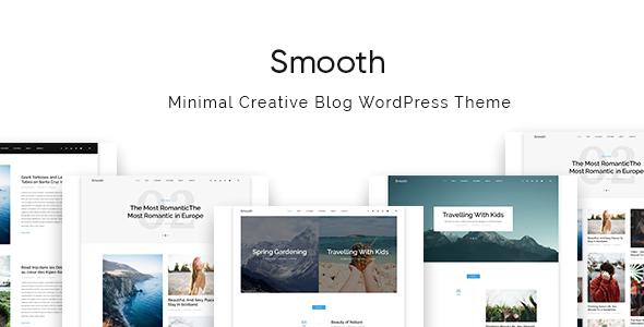 Smooth Preview Wordpress Theme - Rating, Reviews, Preview, Demo & Download