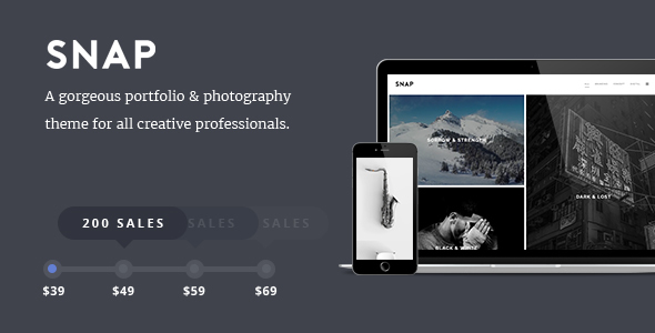 SNAP Preview Wordpress Theme - Rating, Reviews, Preview, Demo & Download