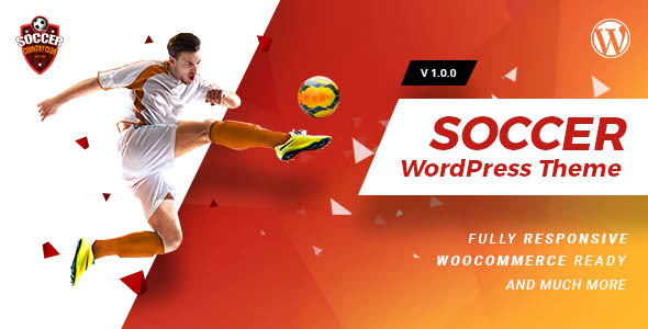 Soccerclub Preview Wordpress Theme - Rating, Reviews, Preview, Demo & Download