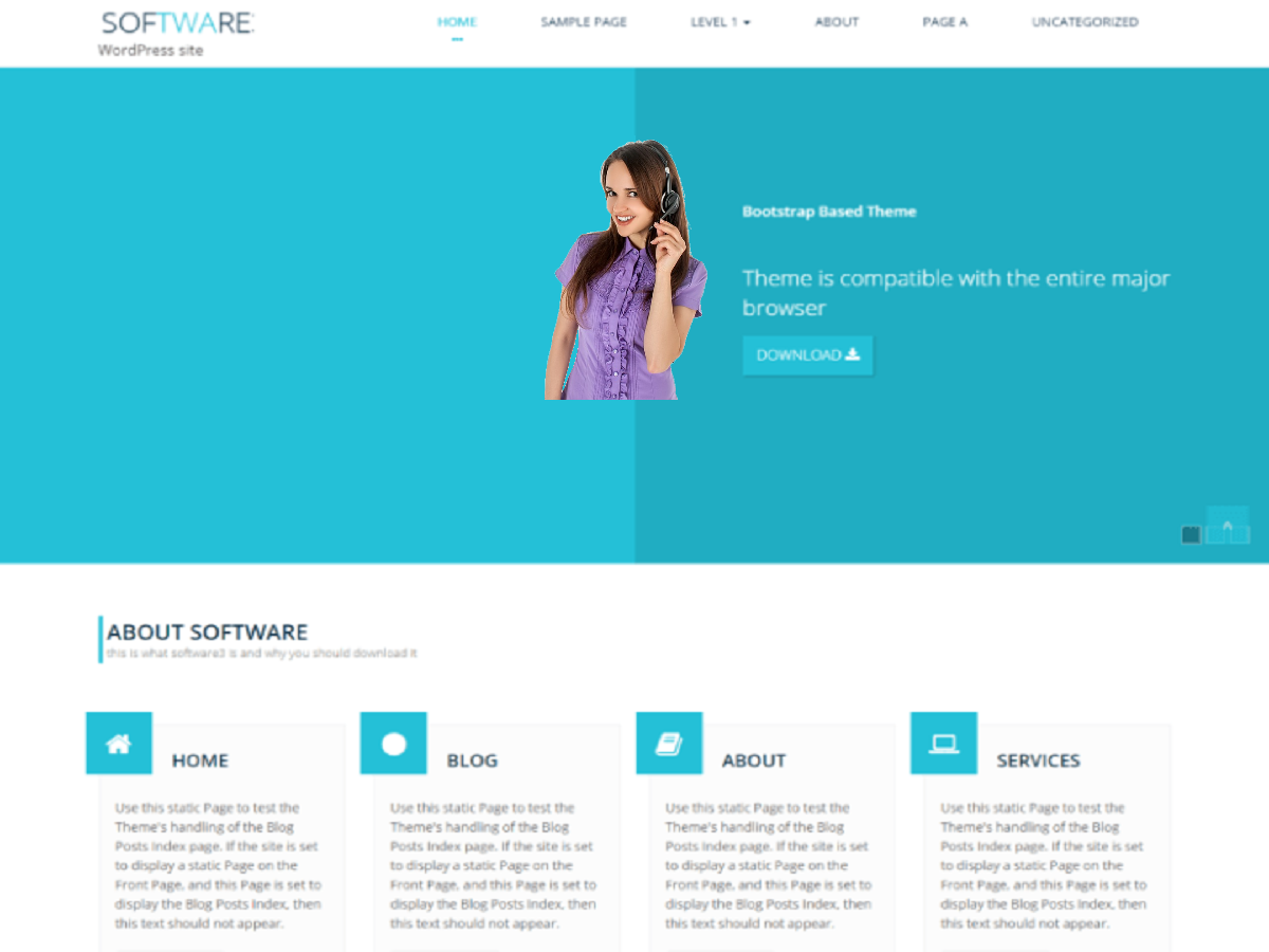 Software Preview Wordpress Theme - Rating, Reviews, Preview, Demo & Download