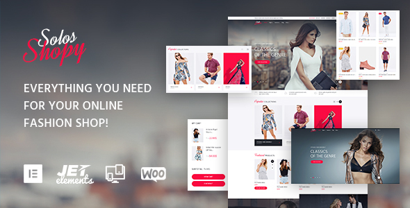 SolosShopy Preview Wordpress Theme - Rating, Reviews, Preview, Demo & Download