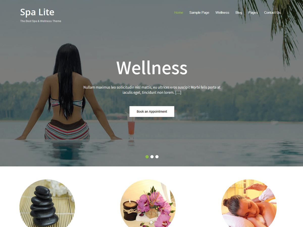 Spa Lite Preview Wordpress Theme - Rating, Reviews, Preview, Demo & Download