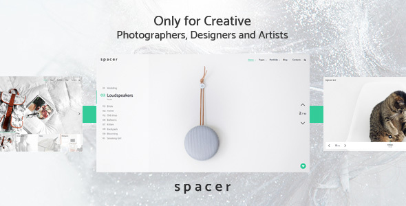 Spacer Preview Wordpress Theme - Rating, Reviews, Preview, Demo & Download