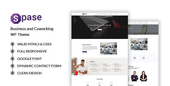 Spase Preview Wordpress Theme - Rating, Reviews, Preview, Demo & Download