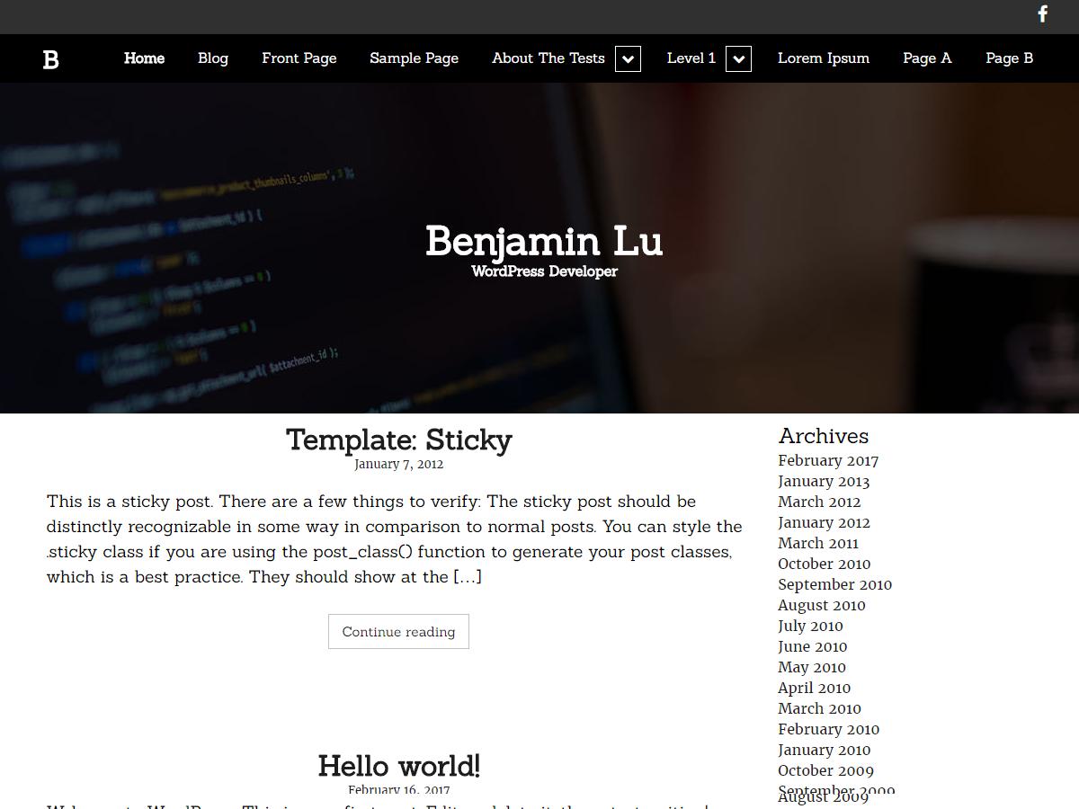 Splendid Portfolio Preview Wordpress Theme - Rating, Reviews, Preview, Demo & Download