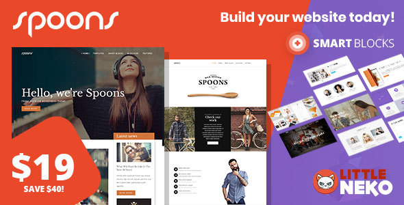 Spoons Preview Wordpress Theme - Rating, Reviews, Preview, Demo & Download