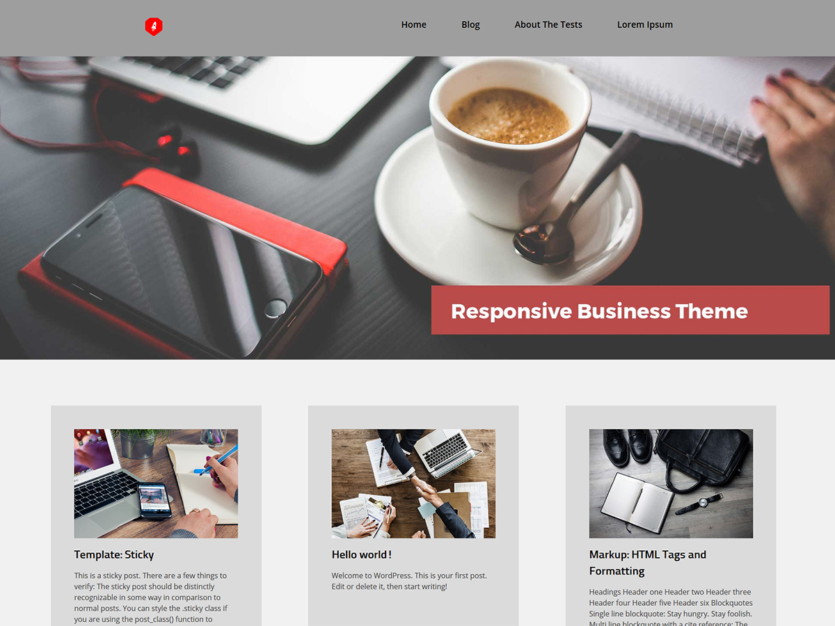 Sprex Preview Wordpress Theme - Rating, Reviews, Preview, Demo & Download